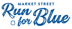 Market Street 'Run for Blue'