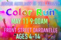 Yell Fest Kid's Color Run