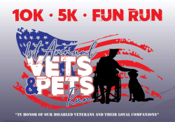 Vets & Pets 5k and 6 mile runs