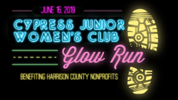 Cypress Junior Women's Club Glow Run