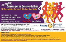 3rd Annual Corazon De Nino Virtual Run