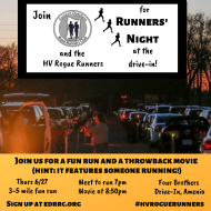 Eastern Dutchess Road Runners Club- Runners' Night at the Drive-In!