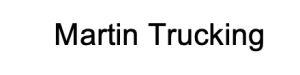 Martin Trucking