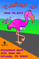 Flamingo 5k Run at Blanchard Park