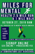 Miles for Mental Health Race