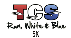TCS Run White and Blue