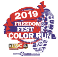 KTBS Freedom Fest Color Run/Walk 5k & 1 mile Fun Run/Walk
