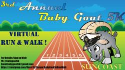 Baby Goat 5k Virtual Run/Walk