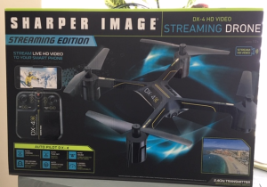 Streaming Drone by Sharper Image