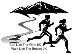Run Like the Wind 5K, Walk Like the Breeze 2K & Dog Jog