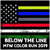 3rd Annual Below the Line MTW Color Run