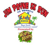Wop's Hops Brewing Co. Jim Payne 5K Benefitting Kids House