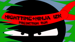 Nighttime Ninja 12k Prediction Run
