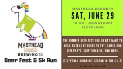 Masthead Beer Fest & 5k