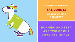 Masthead Beer Fest & 5k Canceled!  New Date TBD