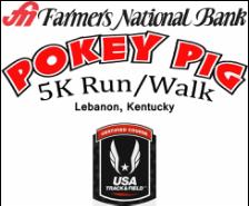 Farmers National Bank Pokey Pig 5K Run/Walk