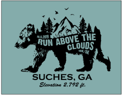 The Run Above the Clouds 10k/5k - VIRTUAL - OUR COURSE OR WHERE YOU WANT