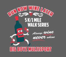 Run Now Wine Later 5K/1Mile Walk at Kings River Winery