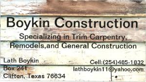 Boykin Construction