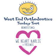 West End Orthodontics Turkey Trot benefiting We Heart Harlie & Friends
