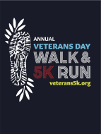 VIRTUAL 2020 - Annual Veterans Day Honor Walk and 5k Run