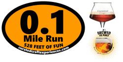 0.1 Mile Halloween Run: 528 Feet of Scary Fun!
