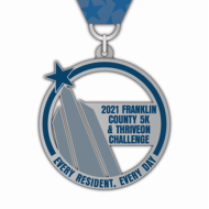 Franklin County 5K & ThriveOn Challenge - In-Person and Virtual Options