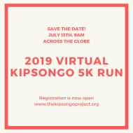 2019 Virtual Kipsongo Project 5K Run/Walk