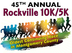 Virtual Rockville 10K/ 5K Logo