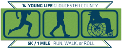 Young Life Gloucester County 5K Run & 1 Mile Walk or Roll