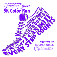 B-E Dancing Shoes 5K Color Run The Fallfest 5K/10K is a Running race in Clifton, Texas consisting of a 10K, 5K.