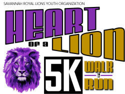 Heart of a Lion 5K Walk & Run