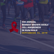 The Annual Bernest Brown Sickle Cell Awareness 5k Run/Walk