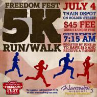 Freedom Fest Annual 5K Run/Walk