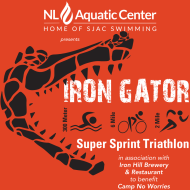 The 1st Annual Camp No Worries Iron Gator Super Sprint Triathlon