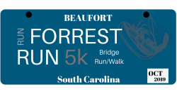 2019 Beaufort Shrimp Festival Run Forrest Run 5K