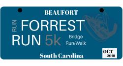 2019 Beaufort Shrimp Festival Run Forrest Run 5K