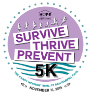 Hope Alliance Survive Thrive Prevent 5K