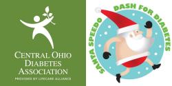Santa Speedo Dash Benefitting Central Ohio Diabetes Association