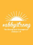 #Abbystrong 5K