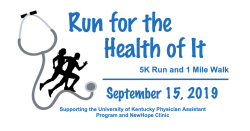 Run for the Health of It 5K -UKPAS