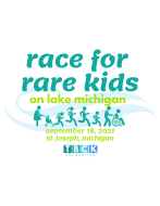 Race For Rare Kids on Lake Michigan 5K and 1K Kids Dash