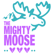 Mighty Moose 5k Run/Walk for Ovarian Cancer Logo