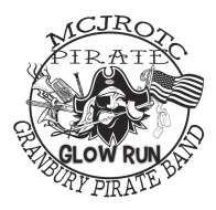 MCJROTC and Granbury Band Pirate Glow Run