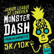 Monster Dash 2019 5k/10k Race- Junior League of Longview