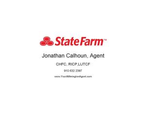 Jonathan Calhoun State Farm Insurance