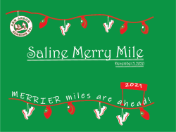 Saline Merry Mile Presented by Ann Arbor Running Company