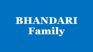Bhandari Family
