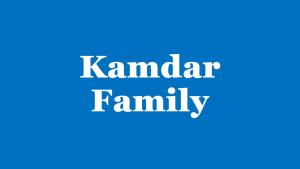 Kamdar Family