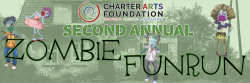 Charter Arts Foundation Virtual Zombie Fun Run